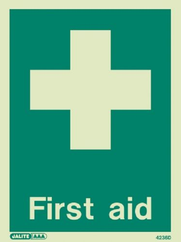 Jalite First Aid Sign (4236)